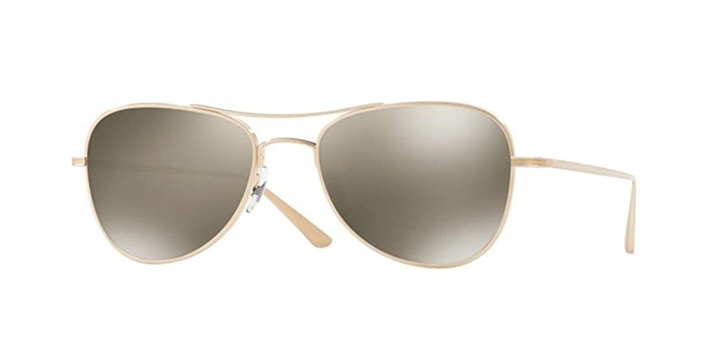 Brushed gold Oliver Peoples  Executive Suite 1198ST  Sunglasses