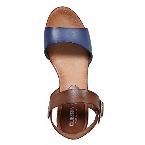 Zapatos de cuña de Mujer CUMBIA 30131 MARINO-NUEZ
