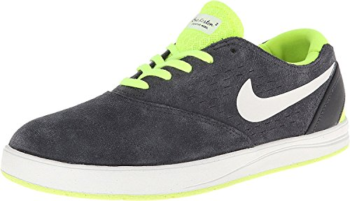 Nike Mens Koston 2 Synthetic-And-Fabric Sneakers, Anthracite/Summit White-Volt, 42 D(M) EU/7.5 D(M) UK