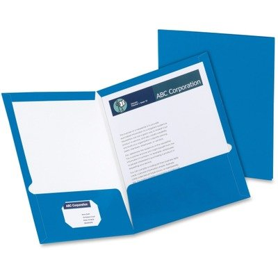 Esselte Pendaflex Corporation Products - Laminated Portfolio, 2-Pocket, 11