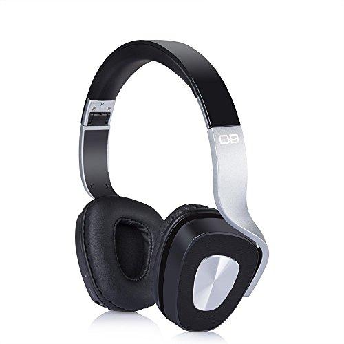 DBPOWER BE-1000 On-Ear Funkkopfhörer Faltbare Bluetooth Kopfhörer V4.0 Stereo Mit Eingebautem Mikrofon für PC, Smartphones und TVs, Ultraleicht (183g)