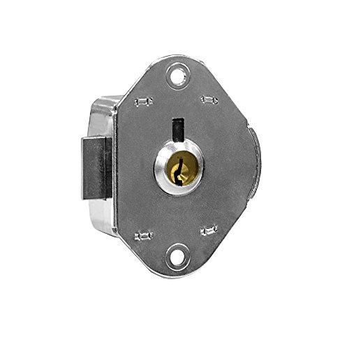Salsbury Industries 19915 Replacement Lock Built-in for Cell Phone Locker Door with 2 keys by Salsbury Industries