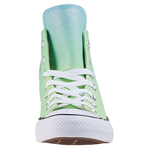 Green Synthetic Hi Taylor Bleached Zapatillas Deporte Adulto Verde Unisex CTAS 336 Converse Aqua Illusion de Chuck Rfxqw1a4T