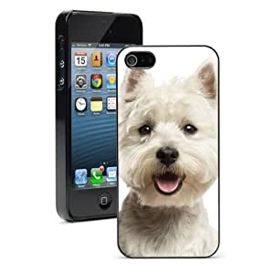 For Apple iPhone 4 4S Hard Case Cover Westie Highland Terrier White