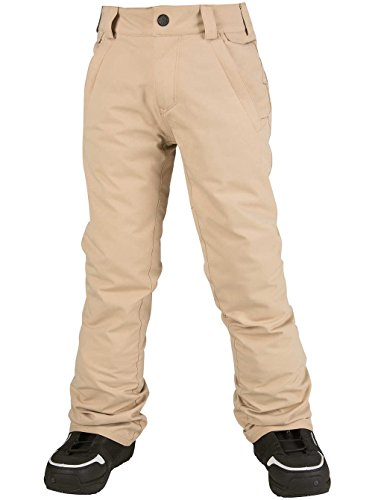 Volcom Big Boys' Freakin Snow Chino Pant, Khaki, M by Volcom