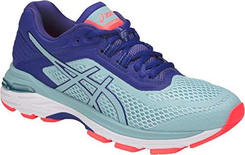 Running Control 6 Stability Shoe - ASICS GT-2000 6 Women's Running Shoe, Porcelain Blue/Porcelain Blue/ASICS Blue, 9 M US