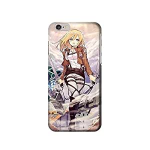 "Attack on Titan Christa inches iphone 5 5s Case,fashion design image custom iphone 5 5s inches case,durable iphone 5 5s hard 3D case cover for iphone 5 5s "", iphone 5 5s Full Wrap Case"