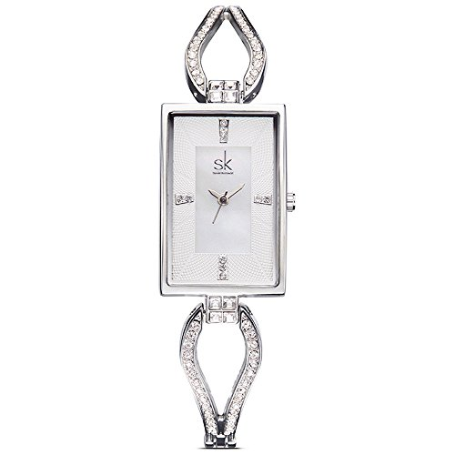 Crystal Bracelet Dress Watch - 6