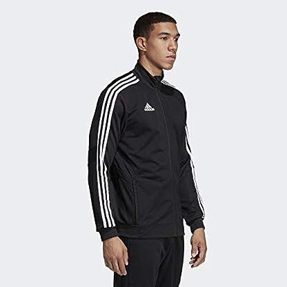 adidas Herren TIRO19 TR JKT Sport Jacket, Black/Black/White, M 4