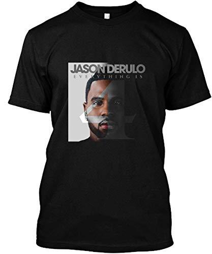 Lu Bu Store Kemoth Jason Music Derulo Tour 2019 Unisex T-Shirt Sweatshirt Black (Jason Derulo Sweatshirt)