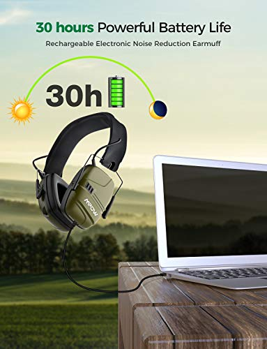 Buy noise reduction headphones for shooting