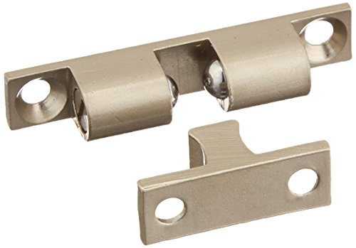 - MINTCRAFT CB-01SN Cb Double Ball Catch, Solid, Satin Nickel Plated