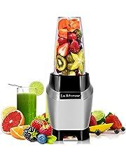 La Reveuse Personal Blender Making Shakes and Smoothies 1000 Watt-with 24 oz BPA Free Portable Travel Bottle - Dishwasher Safe