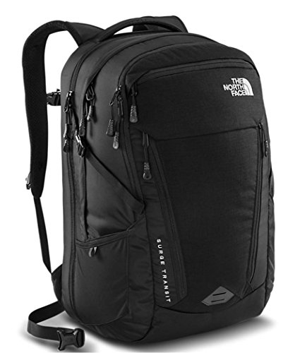 The North Face Womens Surge Transit Laptop Backpack (TNF Black - L) by The North Face