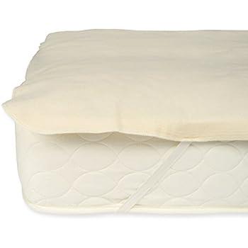Amazon Com Lifekind Organic Flannel Mattress Pad With