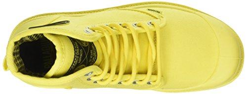 Palladium Unisex-adult Pampa Stevig Pak Hoge Sneaker Geel (brandend Geel)