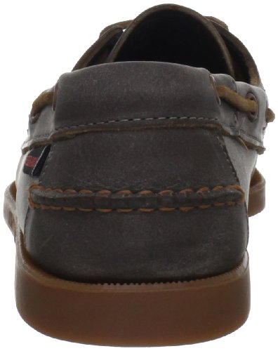 Wash Men's Brown Sebago Docksides White Shoe Boat UfHwS