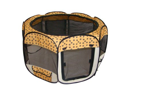 Paw Pet Dog Cat Tent Puppy Playpen Exercise Pen M