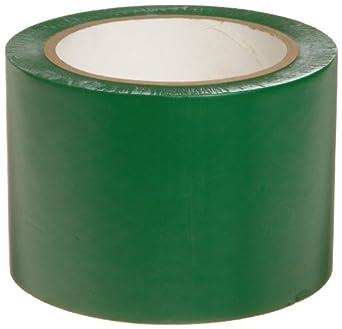"Brady 108' Length, 3"" Width, B-725 Vinyl Tape, Green Color Aisle Marking Tape"