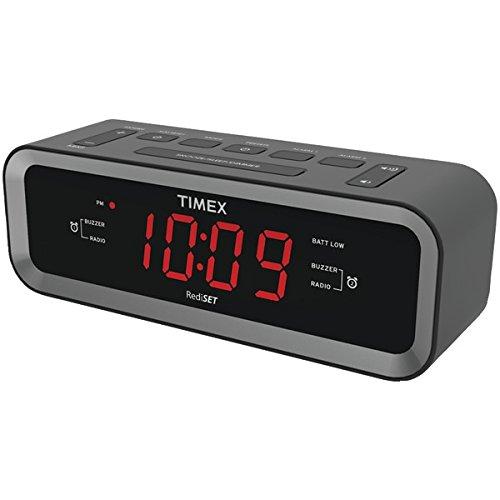 Timex T236BQX FM Dual Alarm Clock Radio...