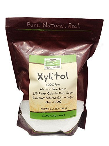 Now Foods Xylitol, 2.5 Pound Bag (Pack of 2) by NOW Foods