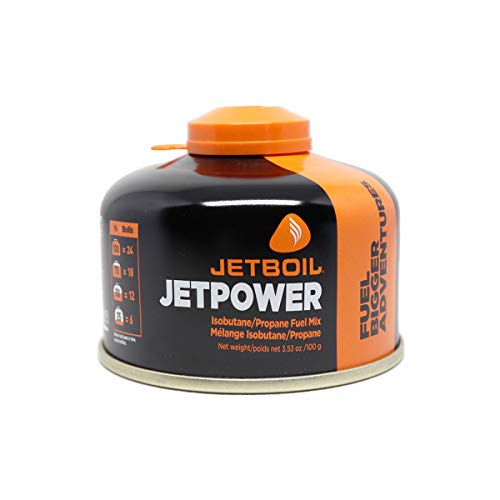 Jetboil Jetpower Fuel, 100 Grams (Fire Gas Efficiency Ratings)