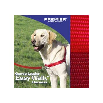 Easy Walk Harness - Small/Medium, Red