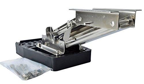 Bracket Marine Outboard Motor - Amarine-made Stainless Steel Outboard Motor Bracket 10 Hp, 2 Stroke-7952S