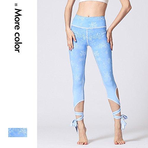 Pantalon De Sport Pour Femme - Leggings Court Pantalon Court Pantalon De Yoga Taille Haute Pantalon De Sport Imprimé - Pantalon Court Pantalon Respirant Sec