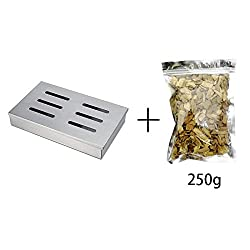 Best Quality Other Bbq Tools Cold Smoke Generator Bbq Accessories Wood Chips For Grilling Smoking Box Barbecue Grill Cooking Tools For Bacon Cold Smoking By Seedworld 1 Pcs