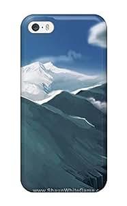 [eGNbNiW4428enTOY] - New Shaun White Snowboarding Protective Iphone 5/5s Classic Hardshell Case(3D PC Soft Case)