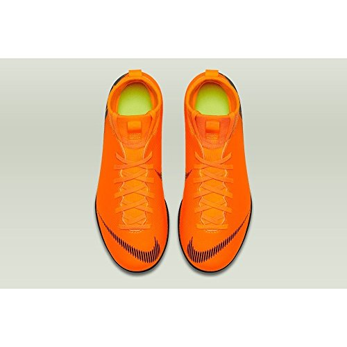 Adulto Total Superflyx Jr Orange Black 6 Multicolor Zapatillas Deporte de IC NIKE Club 810 t Unisex zpqdBn5Pq