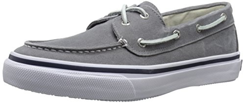 (Sperry Men's Bahama 2-Eye Fashion Sneaker, Grey, 10.5 M US )