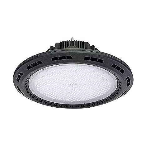 Campana LED industrial UFO 120W + MeanWell driver, Blanco frío: Amazon.es: Iluminación