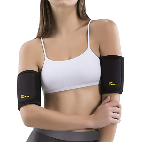 Hot Shapers Arm Trimmers Sauna Bands – Women Compression Slimmers (Regular)
