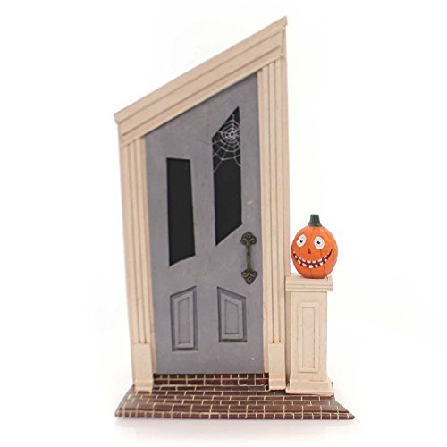 Lori Mitchell SPOOKY DOOR Polyresin Haunted Halloween 11048 -