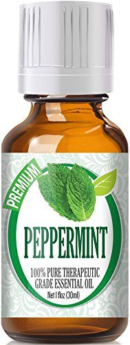 Peppermint Essential Oil - 100% Pure Therapeutic Grade Peppermint Oil - 30ml by Healing Solutions