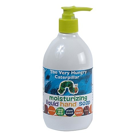 THE VERY HUNGRY CATERPILLAR Liquid Hand Soap, White, 12 Fluid Ounce