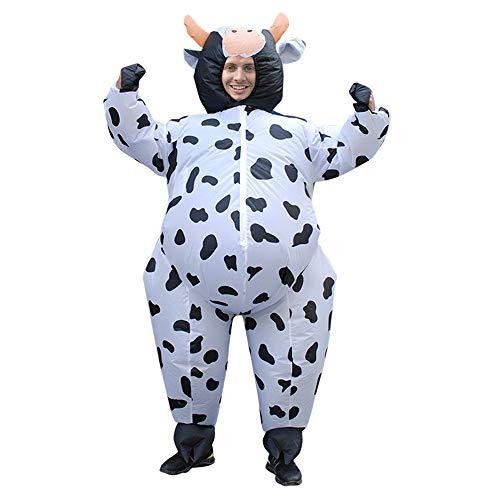 GUAITAI Milk Cows Animal Inflatable Costume Fancy Dress Cartoon Costume -