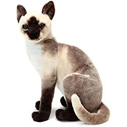 VIAHART Stefan The Siamese Cat | 14 Inch Stuffed Animal Plush | by Tiger Tale Toys