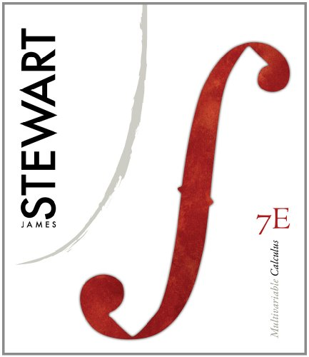 Multivariable Calculus, 7th Edition, Student Solutions Manual by James Stewart, Publisher : Cengage Learning