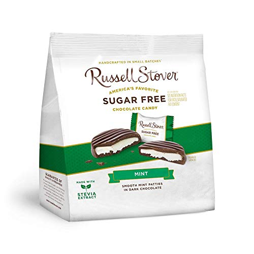 (Russell Stover's Sugar Free Mint Patti, 10 oz. Bag)