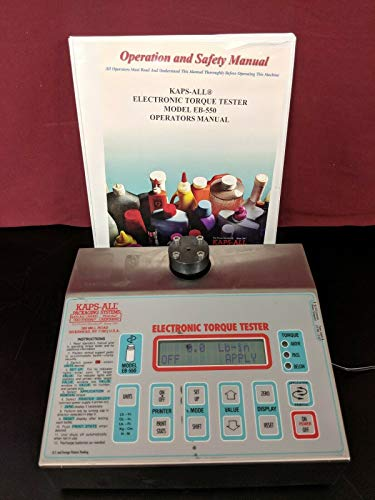 Kaps-All Packaging Systems EB-550 A Electronic Bottle Cap Torque Tester / 100 LB
