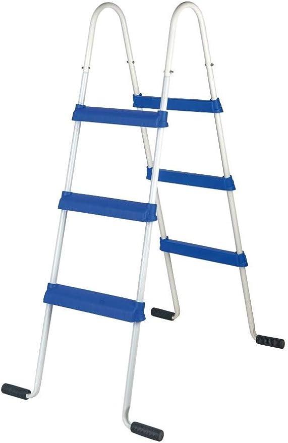 Gre ET1200 - Escalera standard tipo tijera para piscina de altura ...