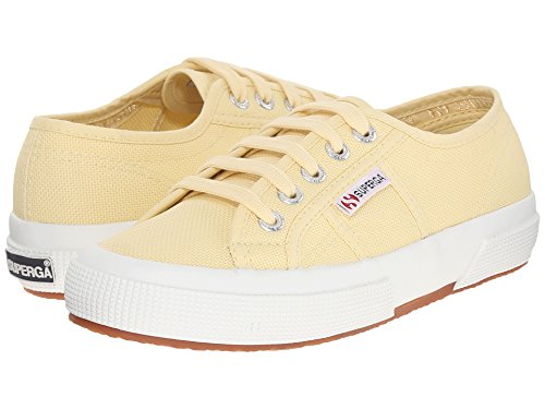 Pale Trainers Canvas Yellow Cotu Womens 2750 Superga wOHXqzx