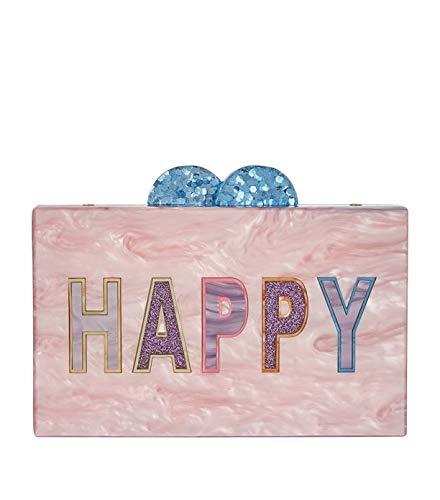 Bari Lynn Girls Box Bag Clutch (Purse) (Boxed, Happy)