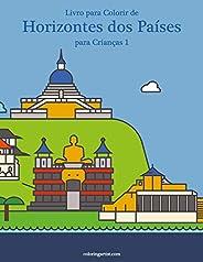 Livro para Colorir de Horizontes dos Países para Crianças 1