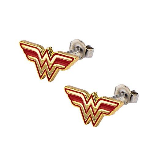 DC+Comics Products : Superheroes DC Comics Wonder Woman Post/Stud Earrings
