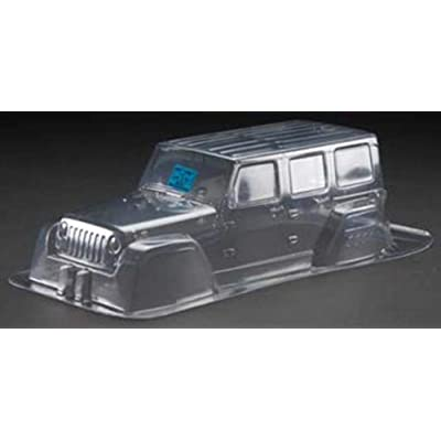"Proline 333600 Jeep Wrangler Unlimited Rubicon Clear Body 12.3"" Wheelbase: Toys & Games"