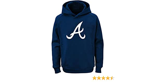 new product 43665 35854 Outerstuff MLB Youth 8-20 Team Color Polyester Performance Primary Logo  Pullover Sweatshirt Hoodie